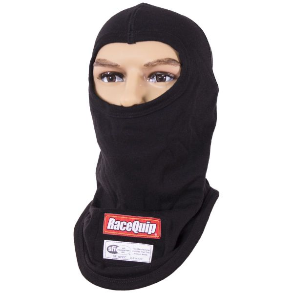 RaceQuip SFI 3.3 FR Single Layer Balaclava